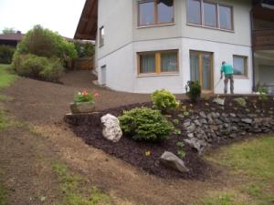 Baggerarbeiten Gartenbau
